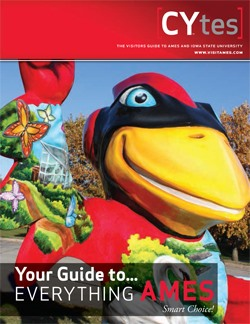Order a Visitor's Guide: Ames, Iowa
