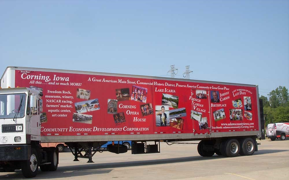 Adams County Truck Wrap