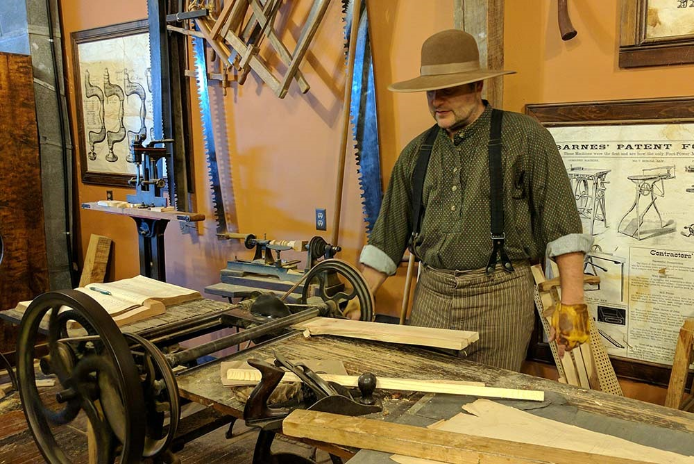 A Living History Lesson Rvp 1875 Furniture Shop