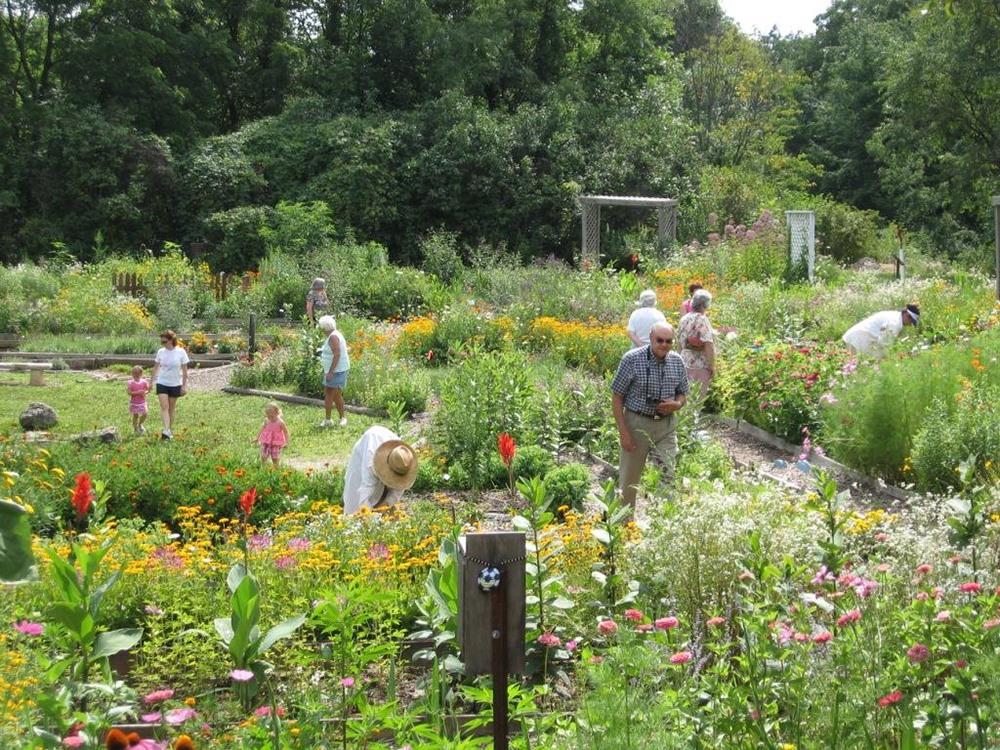 Arboretums U0026 Botanical Gardens: Bellevue Butterfly Garden, Bellevue Iowa