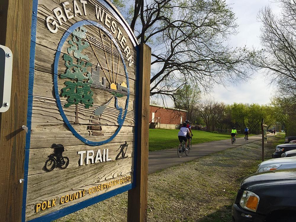 Rideworthy Routes: Great Western Trail, Des Moines Area, Iowa