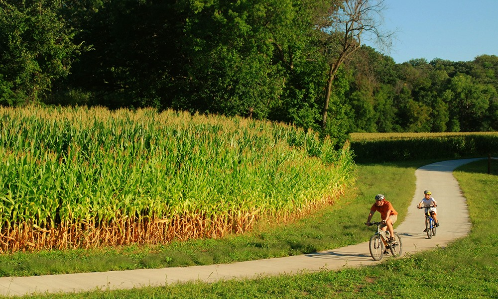 Rideworthy Routes: Trout Run Trail, Decorah Iowa