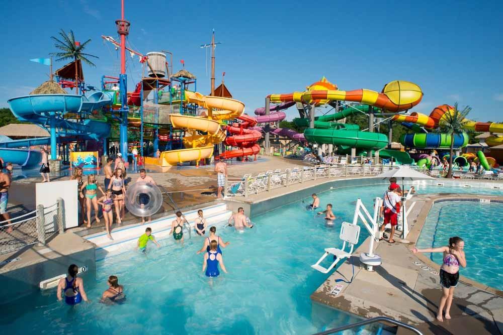 Water Park Fun in Scorching Summer