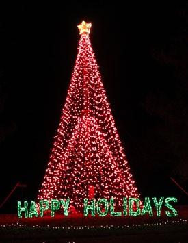 Holiday Drive-Through Light Displays