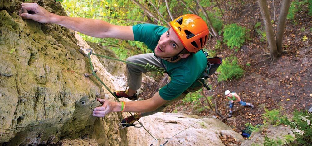 Rock Climbing Courses In Iowa