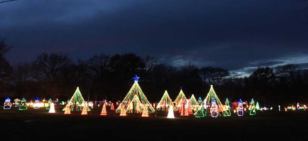 Lights in the Park, Sumner - Holiday Drive-Through Light Displays