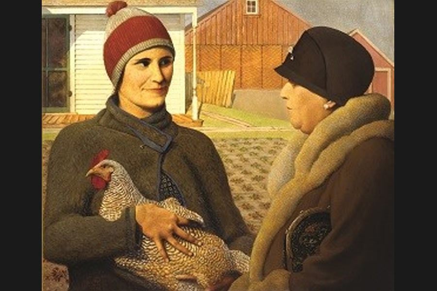 Grant Wood S Most Famous Works