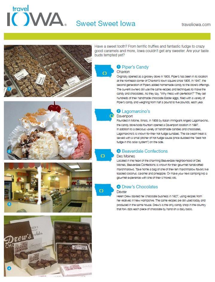 Sweet Sweet Iowa Industry Partners