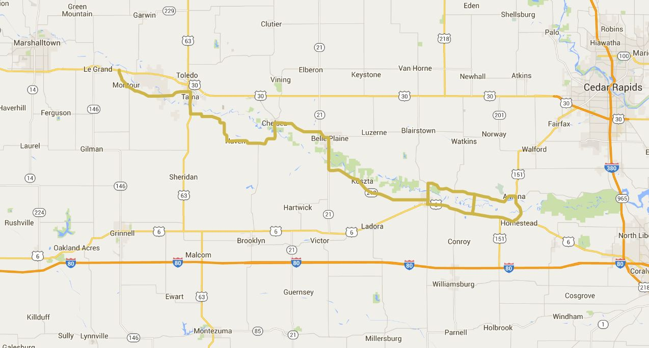 Iowa Valley Scenic Byway Iowa Tourism Map Travel Guide Things
