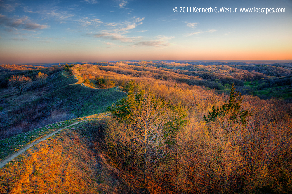 Loess Hills National Scenic Byway Iowa Tourism Map Travel Guide Things To Do Travel Iowa