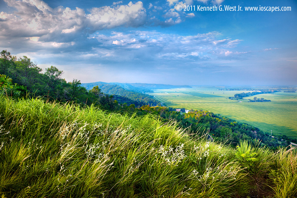 Loess Hills National Scenic Byway Iowa Tourism Map