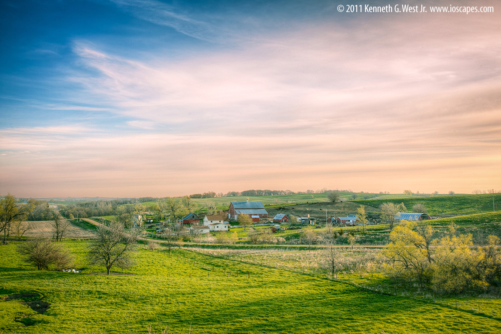 Western Skies Scenic Byway: Iowa Tourism Map, Travel Guide, Things