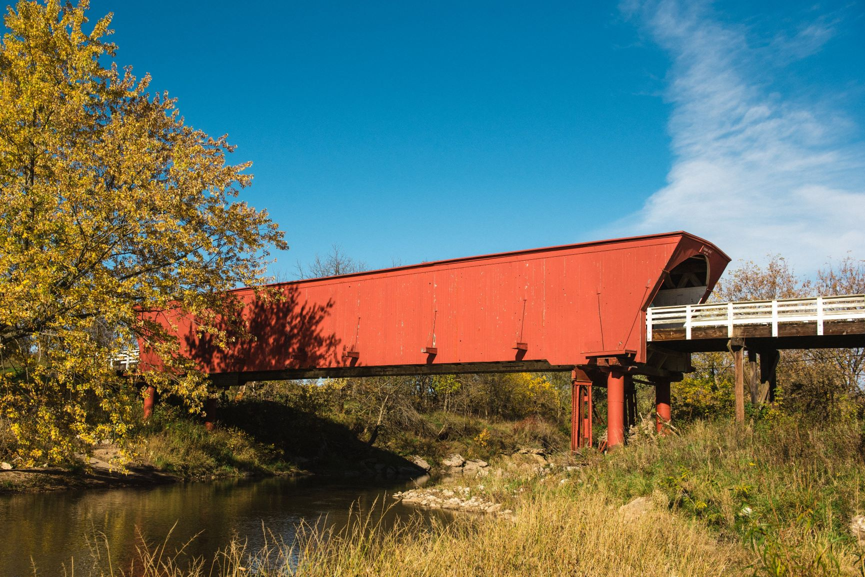 Covered Bridges Scenic Byway Iowa Tourism Map Travel