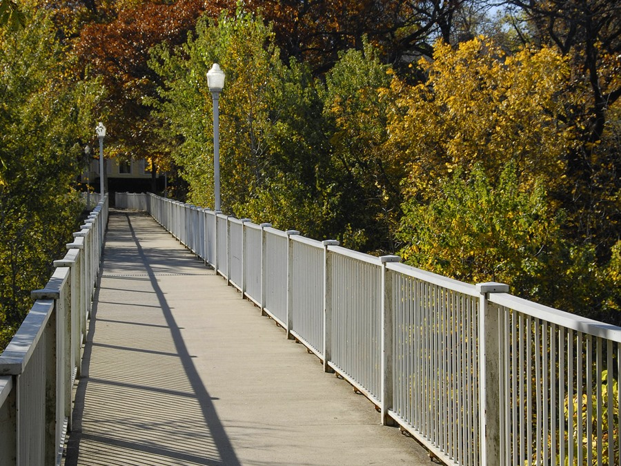 Meredith Willson Footbridge Mason City Iowa Travel Iowa