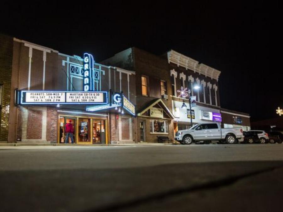 The Grand Theater Knoxville Iowa Travel Iowa