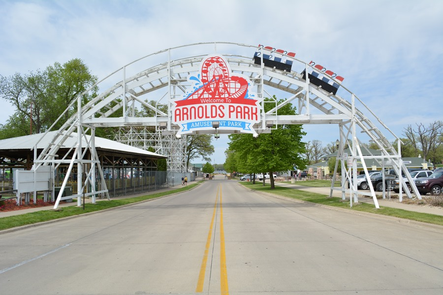 Image result for arnolds park amusement park