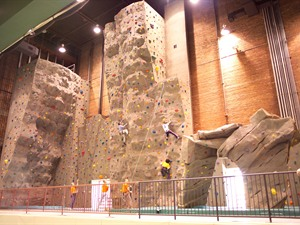 Long Lines Family Rec Center Climbing Wall