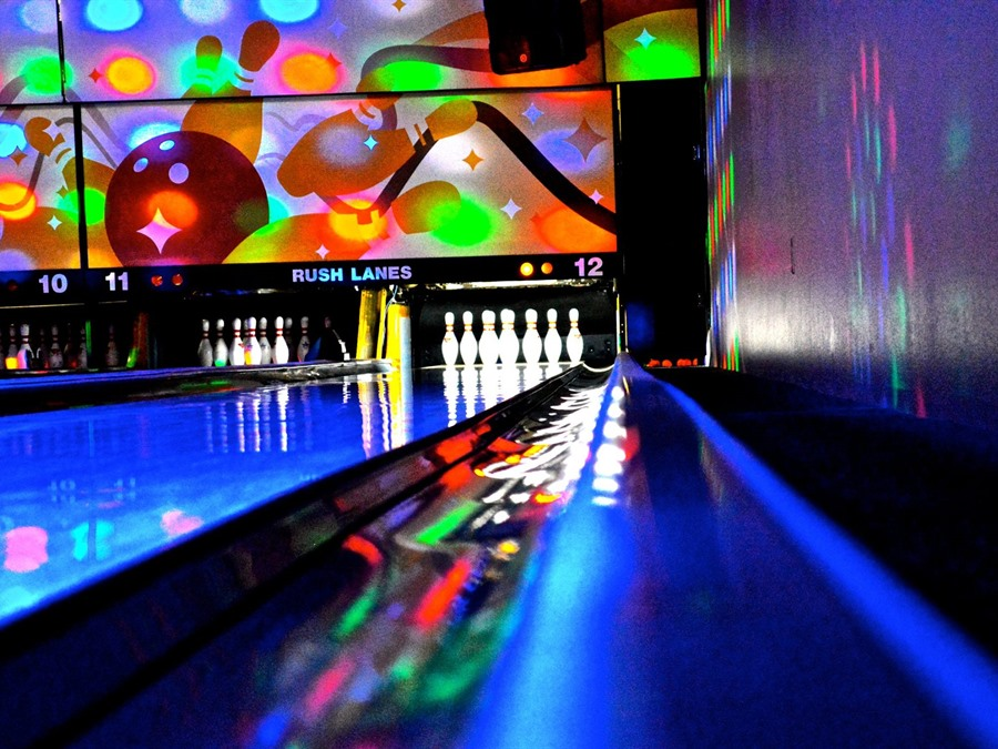 Cosmic Bowling every Saturday!