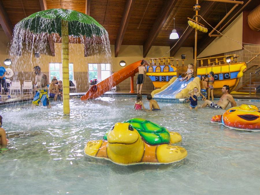 Buccaneer Bay Indoor Water Park At Honey Creek Resort
