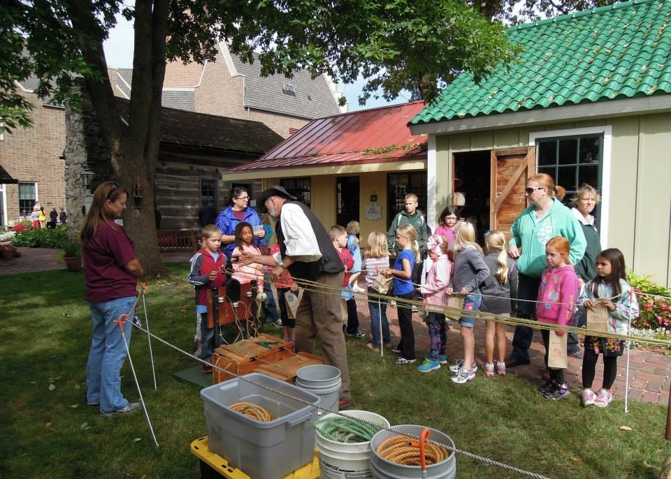 Fall Festival in the historical Village