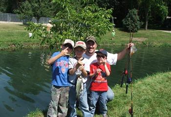 Big springs trout hatchery elkader iowa for Iowa fish hatcheries