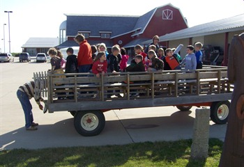 School tours and hayrides