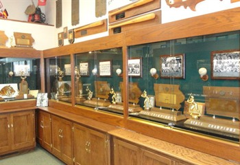 East Wall of Trophies