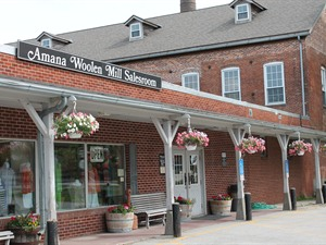 Amana Woolen Mill and Salesroom