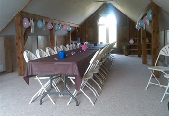 Baby Shower in the Loft