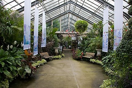 Inside view of Conservatory