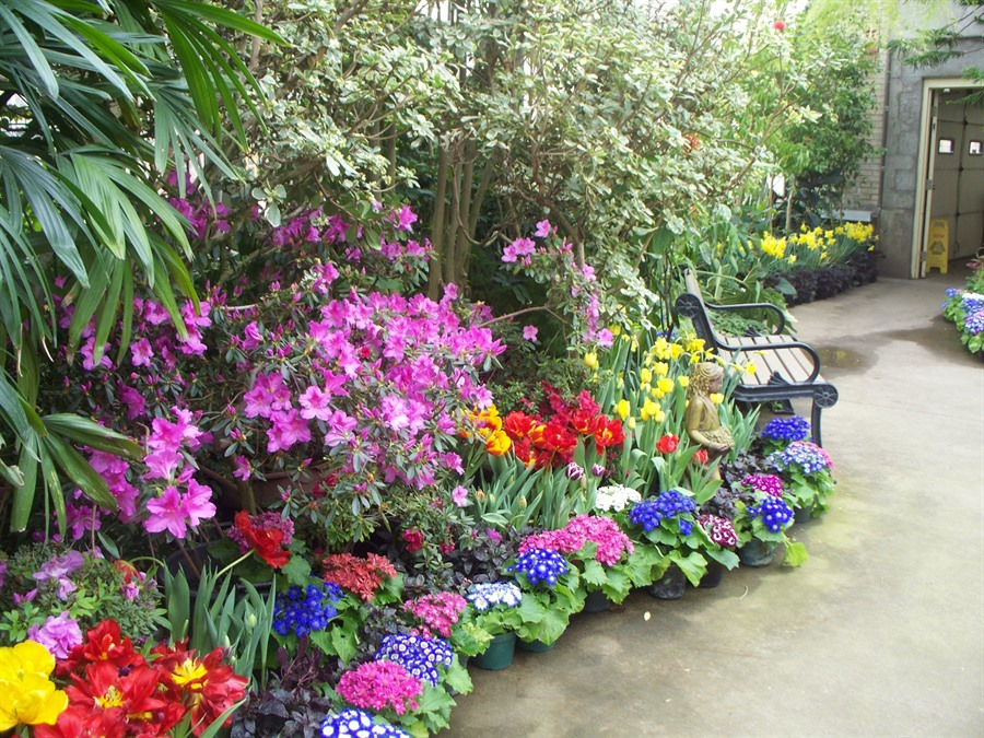 Vander Veer Botanical Park and Conservatory - Davenport, Iowa