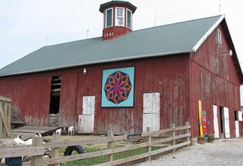 Historic 1882 Barn, Home to the Petting Farm