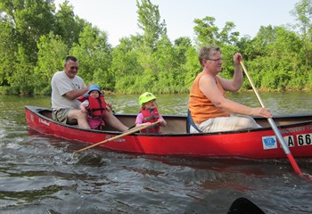 Canoeing the Winnebago River