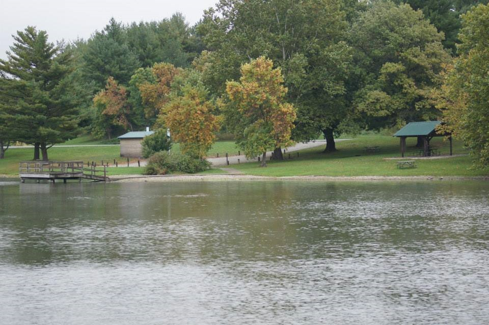 17 acre lake for fishing and boating