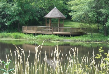 Poe Hollow Pond Gazebo