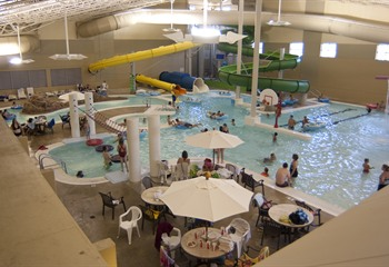 King's Pointe Waterpark Resort Storm Lake IA Indoor Waterpark