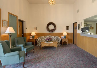 Super 8 Motel Storm Lake IA Lobby