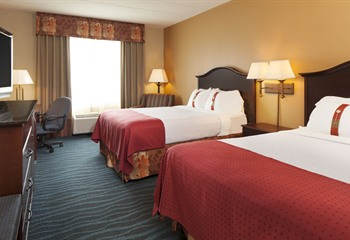 Holiday Inn Hotel & Suites at Ameristar Council Bluffs IA Double Queen Room