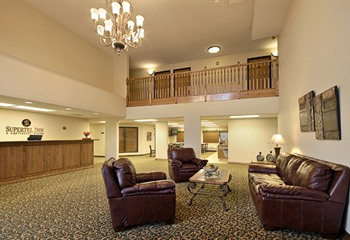 Supertel Inn & Conference Center Creston IA Lobby