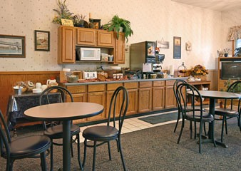 Super 8 Motel Burlington IA Breakfast Area