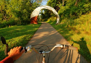 River Horizon Archway - Image by Randy Uhl