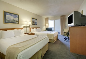 Days Inn Cedar Falls IA Double Queen Room