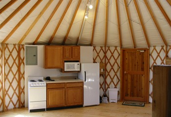 Pammel Park Yurt Cabins Winterset Iowa
