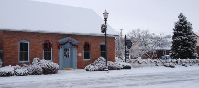 Welcome Center in Winter