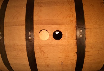 Iowa Distilling Whiskey Barrel