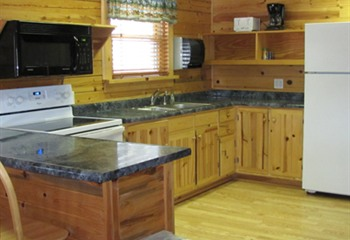 Scotch Pine Kitchen