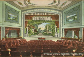 1912 Interior of the Wieting Theatre