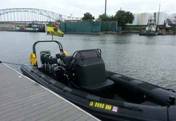 Military-Style R.I.B. Boat