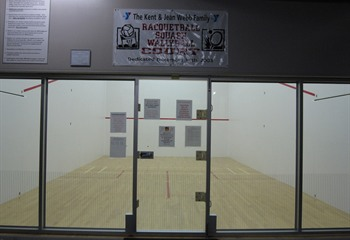 Racquetball Squash Wallyball Court