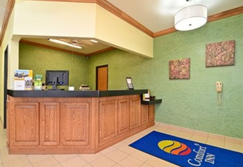 Front Desk Reception Area